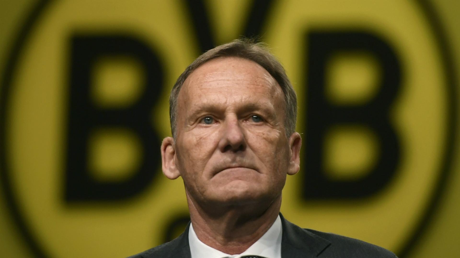Изпълнителният директор на Борусия (Дортмунд) Ханс-Йоаким Ватцке призна, че е