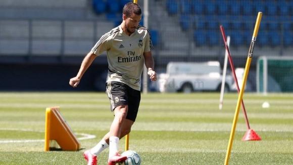 Възстановената звезда на Реал Мадрид Еден Азар чувства, че е