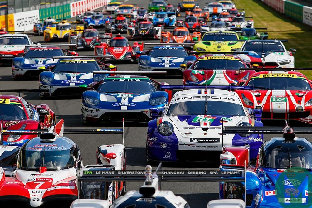 Автомобилното състезание