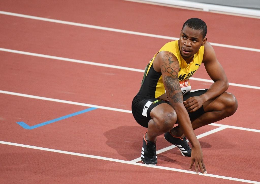 Олимпийският и световен шампион с щафетата на Ямайка и световен