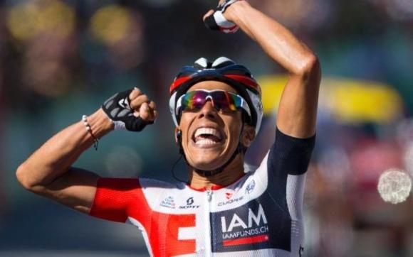 Харлинсън Пантано, който има етапни победи в