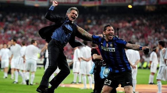 Точно 10 години след спечеления трофей с Интер в Шампионската