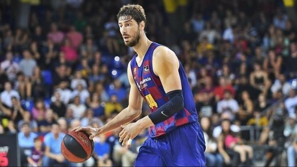 Баскетболният тим на Барселона постепенно възобнови тренировъчния процес в зала,