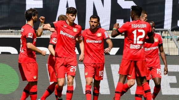 Отборите на Борусия (Мьонхенгладбах) и Байер (Леверкузен) играят при 0:0