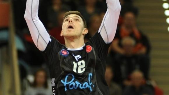 Разпределителят на националния ни отбор по волейбол Георги Сеганов се