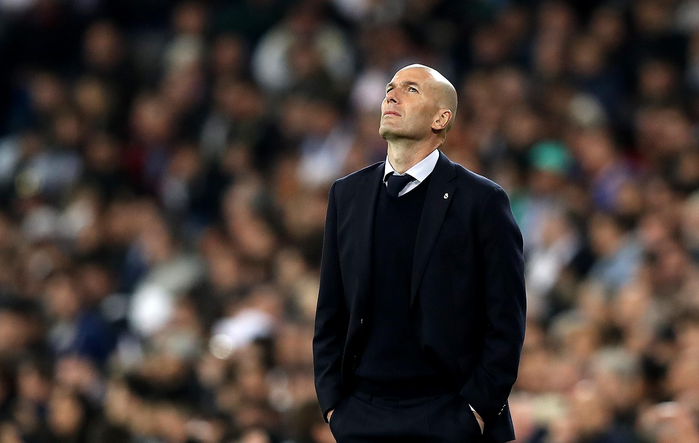 Старши треньорът на Реал Мадрид Зинедин Зидан е нарушил разпоредбите