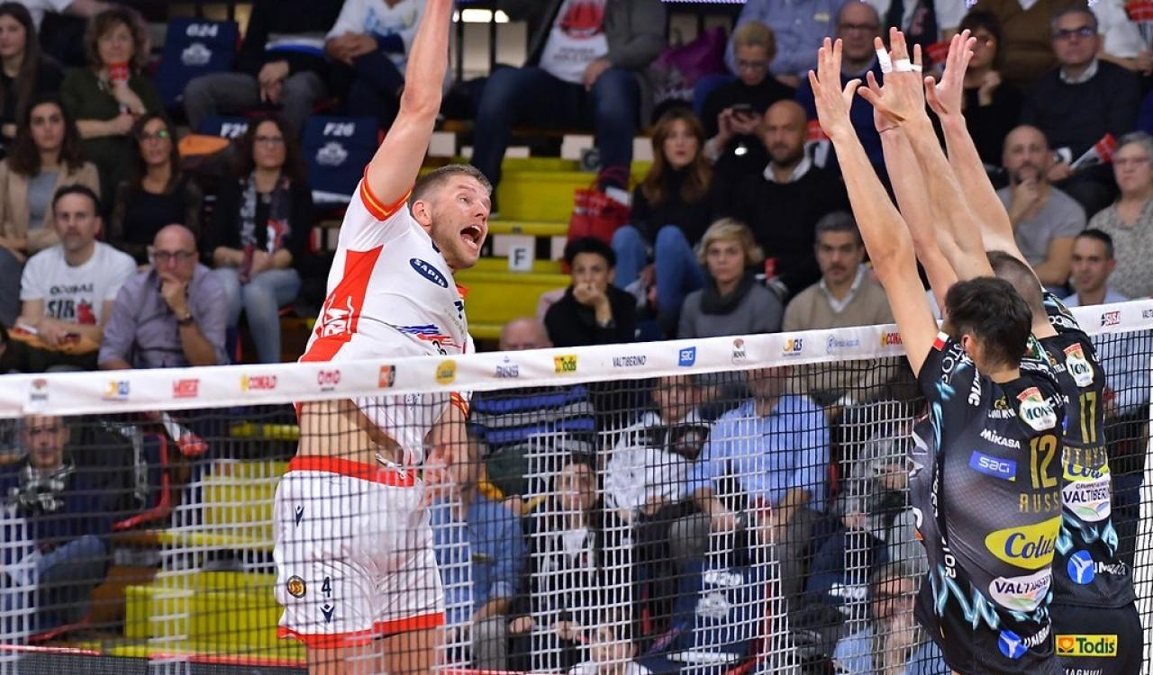 Италианският волейболен гранд Сър Сейфти Конад (Перуджа) обяви трансфера на