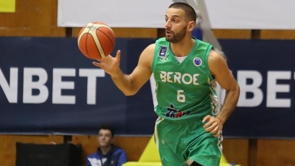 """Баскетболистът на """"Берое"""" Иван Лилов прие предизвикателството на Sportal.bg и"""
