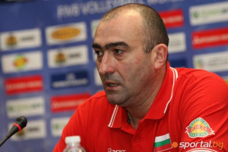 Бившият селекционер на мъжкия национален отбор по волейбол на България