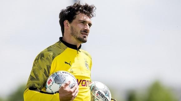 Двама от най-важните футболисти в отбора на Борусия (Дортмунд) Матс