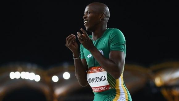 Голямата звезда на Южна Африка в скока на дължина Луво