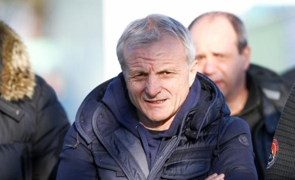 Силният човек в ЦСКА-София Гриша Ганчев е проследил тренировка на