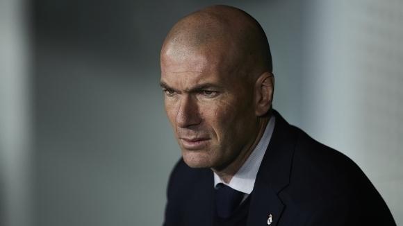 Треньорът на Реал Мадрид Зинедин Зидан беше избран за най-добър