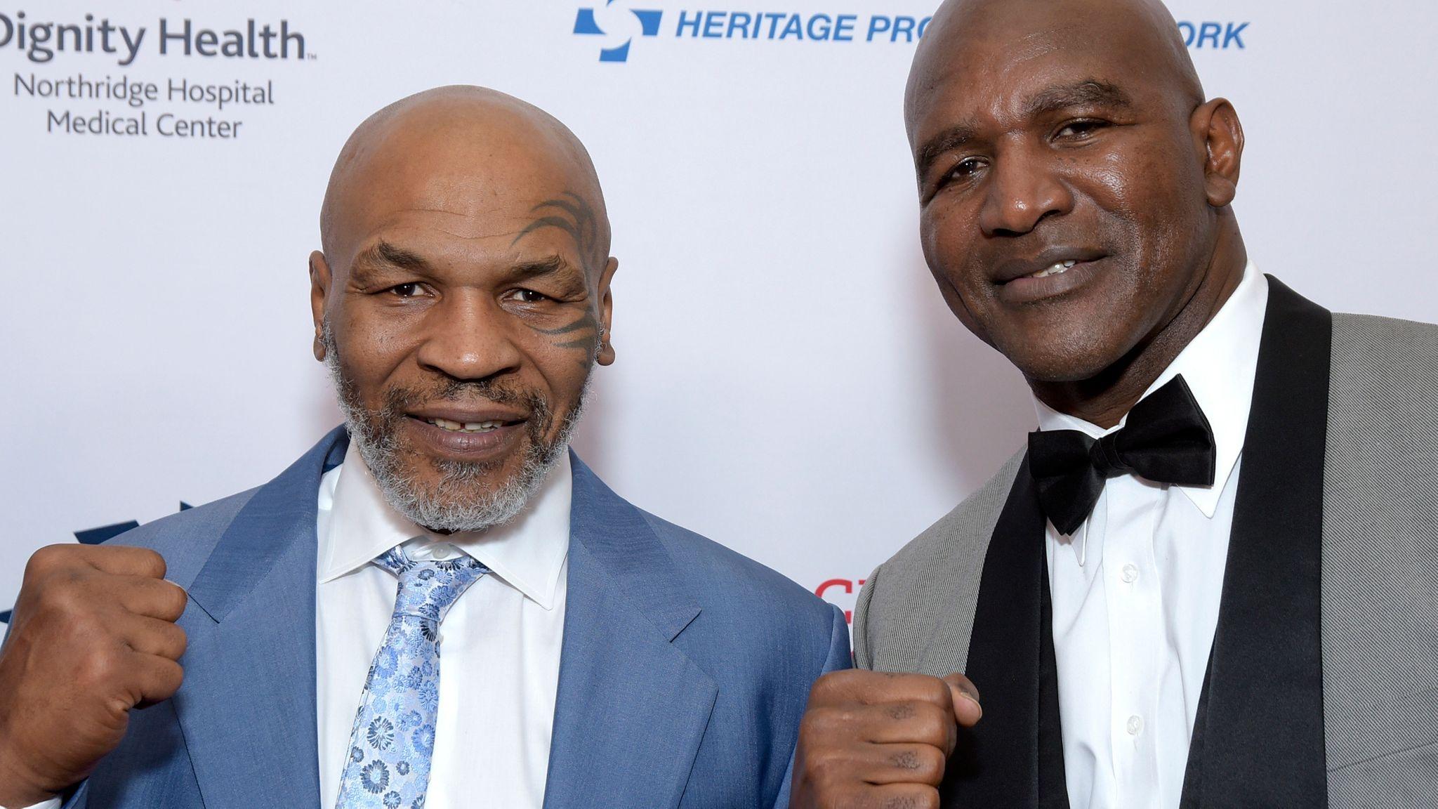 Бившият световен шампион по бокс в тежка категория Ивендър Холифийлд