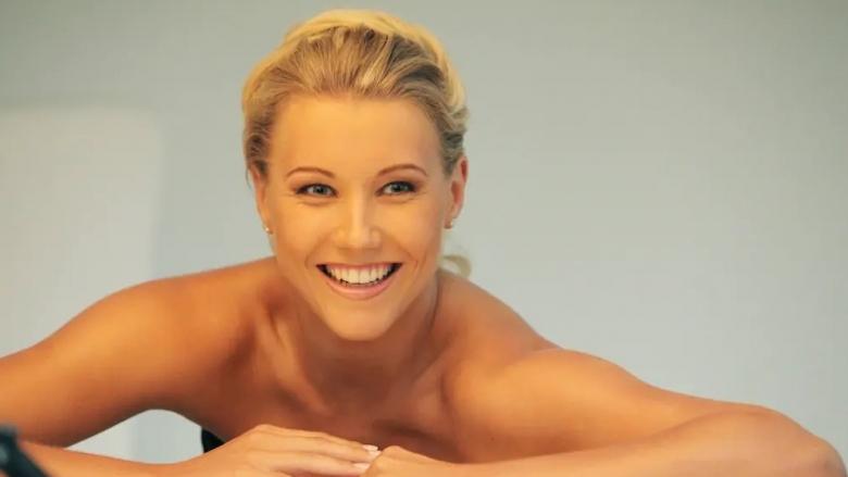 Една от най-красивите волейболистки на Германия – Маарен фон Рьомер,