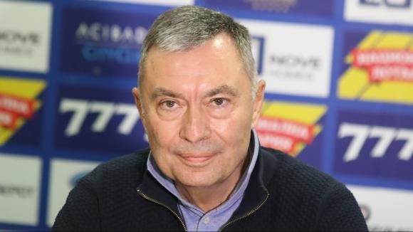 Водещият се за собственик на Левски Георги Попов обяви, че