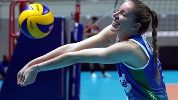 Българската волейболистка Добриана Рабаджиева спечели сърцата на съотборничките си в