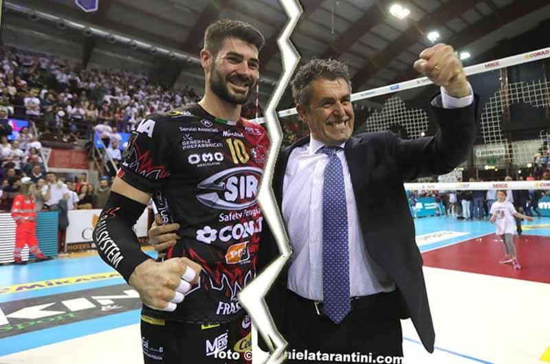 Италианският волейболен национал Филипо Ланца напуска със сигурност местния гранд