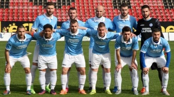 Черноморец (Балчик) ще участва в първенството на Втора лига и
