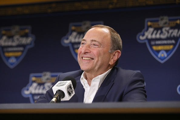 Комисарят на НХЛ Гари Бетман скоро ще обяви плейофи с