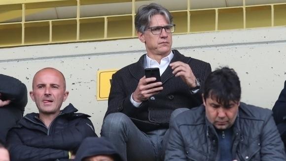 Спортният директор на ЦСКА-София Кристиано Джарета коментира бъдещето си на
