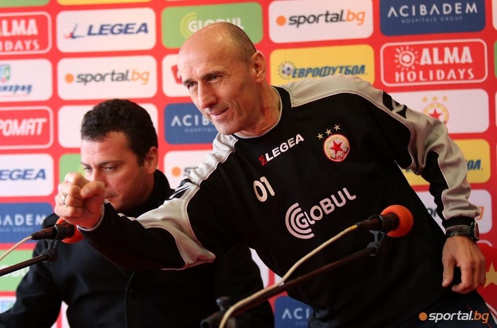 Бившият треньор на Литекс, ЦСКА и Славия Миодраг Йешич се