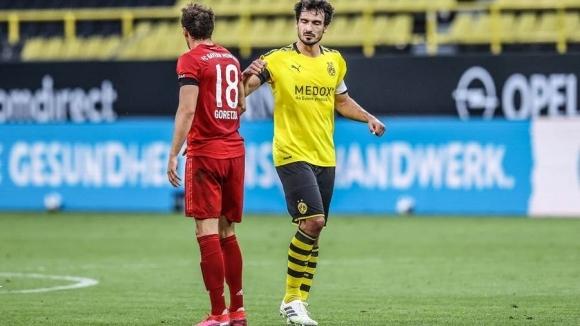 Защитникът на Борусия (Дортмунд) Матс Хумелс отбеляза след поражението с
