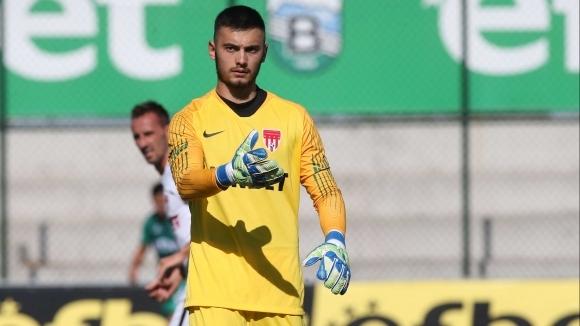 Стражът Мартин Димитров вече не е част от отбора на