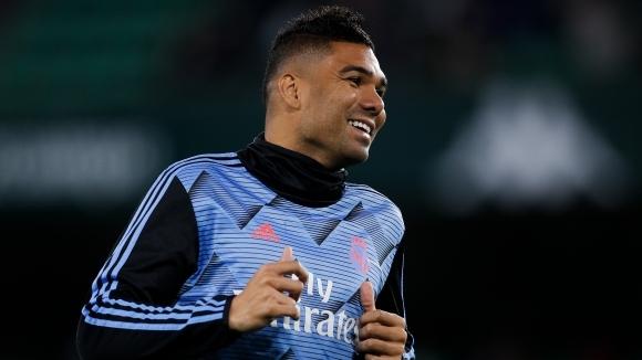 Халфът на Реал Мадрид Каземиро е подписал нов договор с