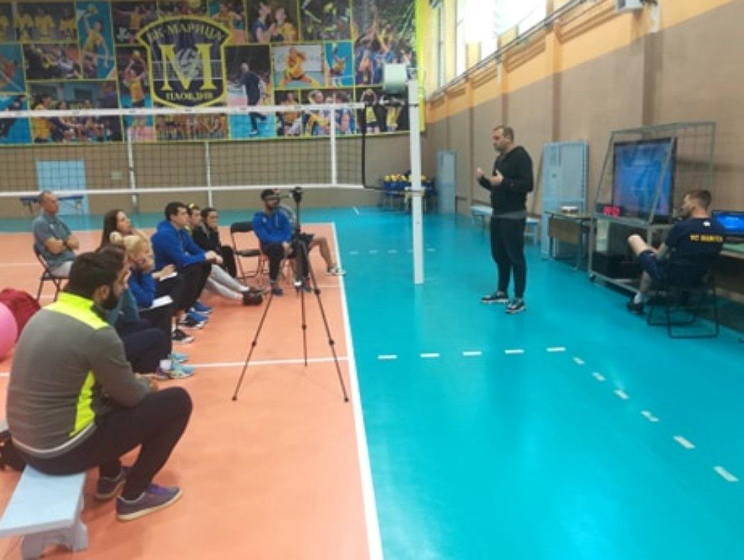 Старши-треньорът на Марица (Пловдив) и женския национален отбор по волейбол