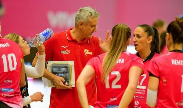 Българско волейболно семейство води френския женски клуб Вандьовр Нанси към