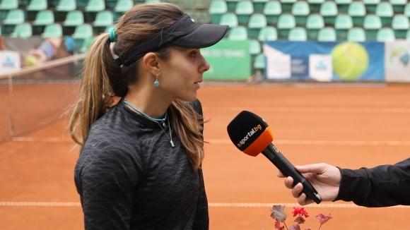 Ракета номер 1 на България при жените Виктория Томова продължава