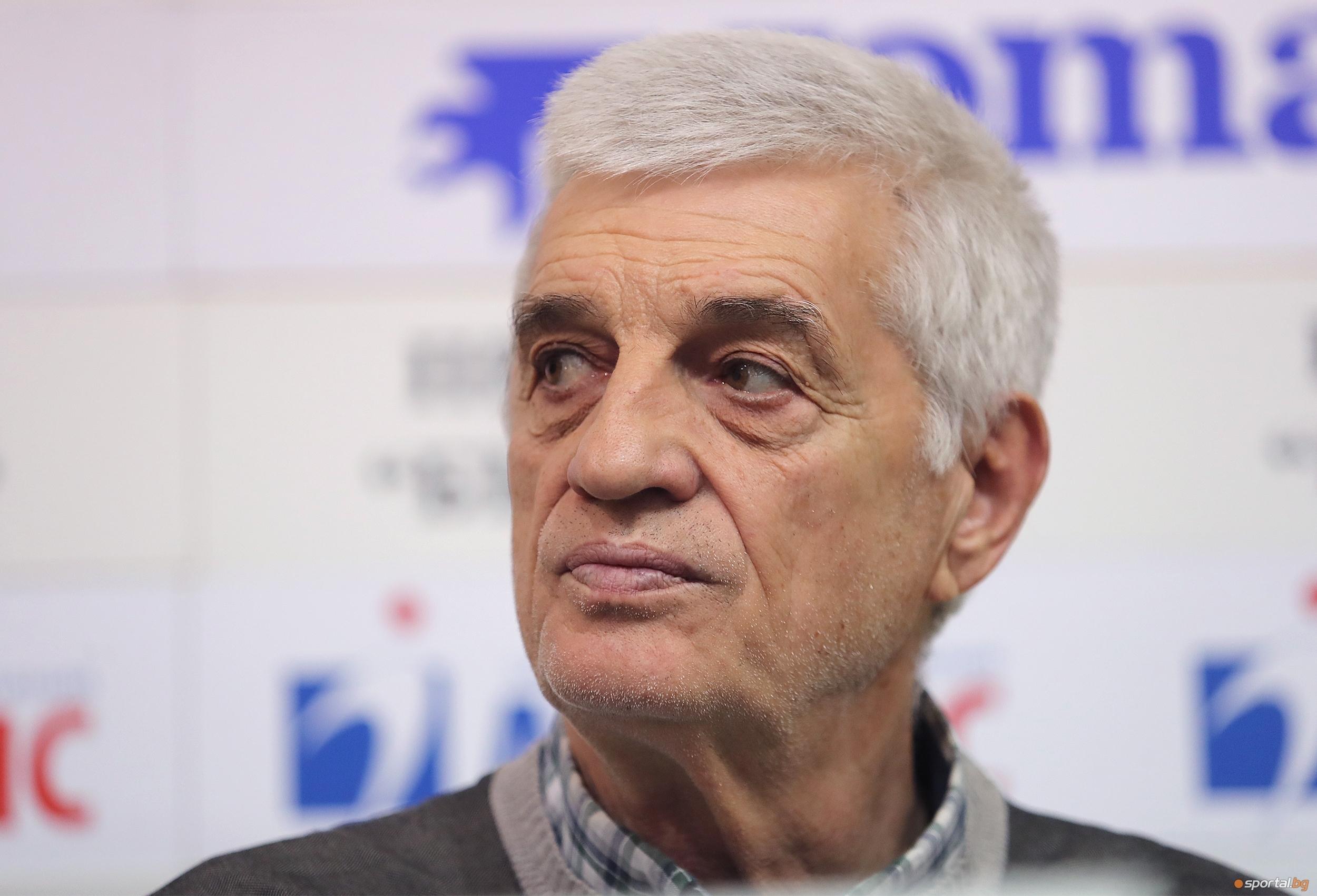 Иван Сеферинов, президент на волейболен клуб Славия и член на