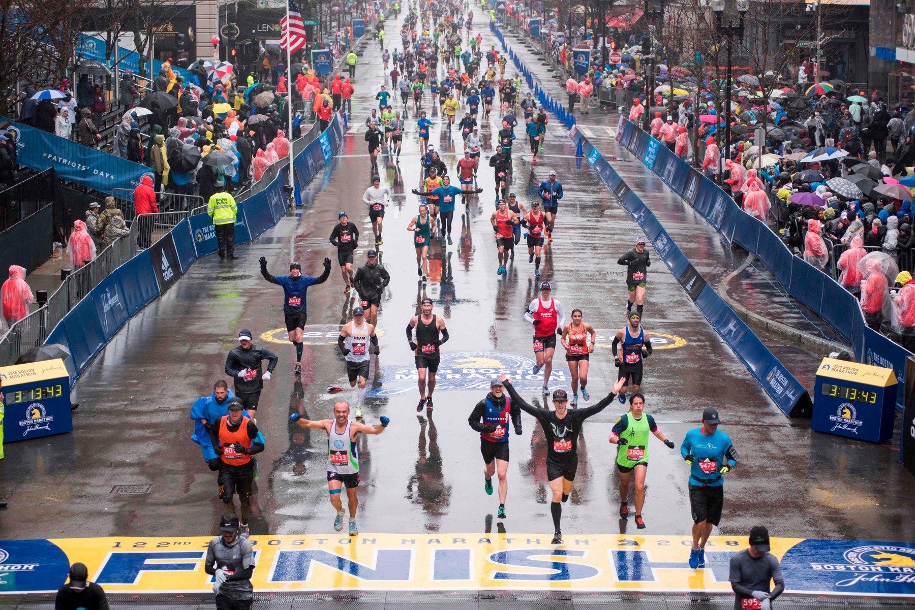 Едно от най-големите състезания в глобален мащаб - Бостънският маратон,