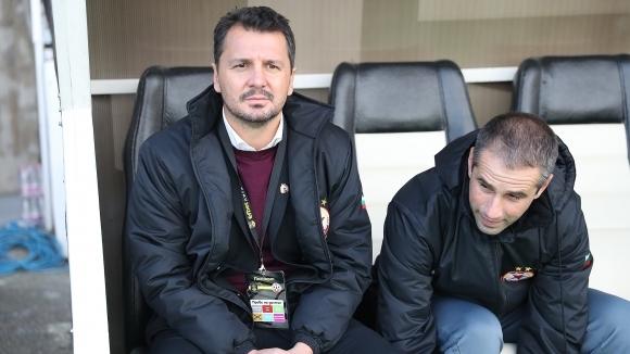 Старши треньорът на ЦСКА-София Милош Крушчич даде онлайн пресконференция преди