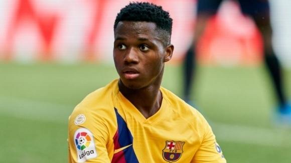 Вундеркиндът на Барселона Ансу Фати не взе участие в днешната