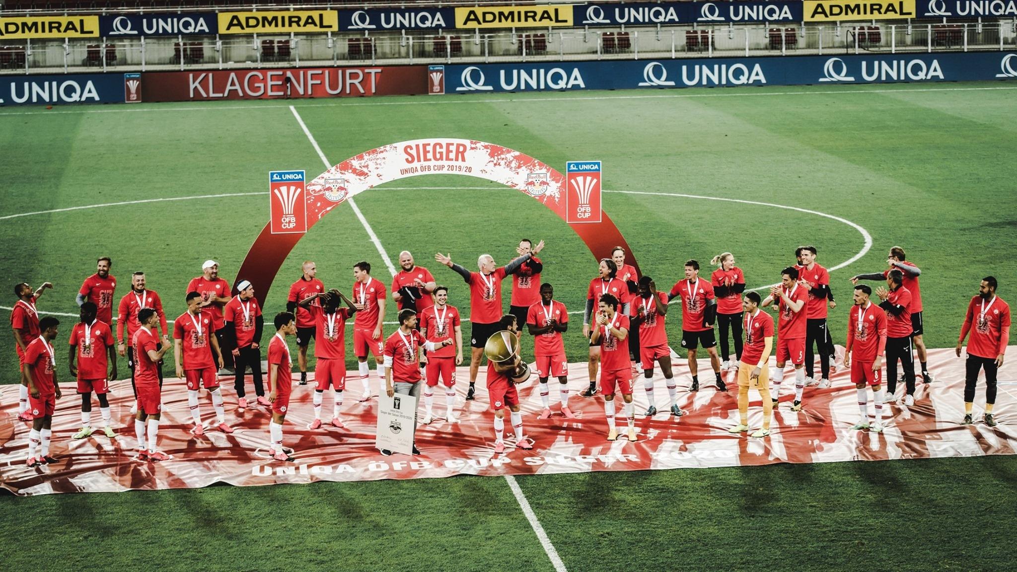 Отборът на Ред Бул Залцбург вдигна за седми път в