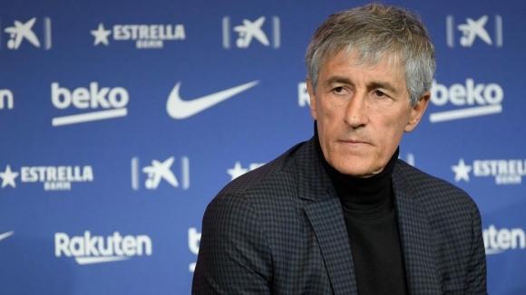 Треньорът на Барселона Кике Сетиен е раздвоен относно временното правило