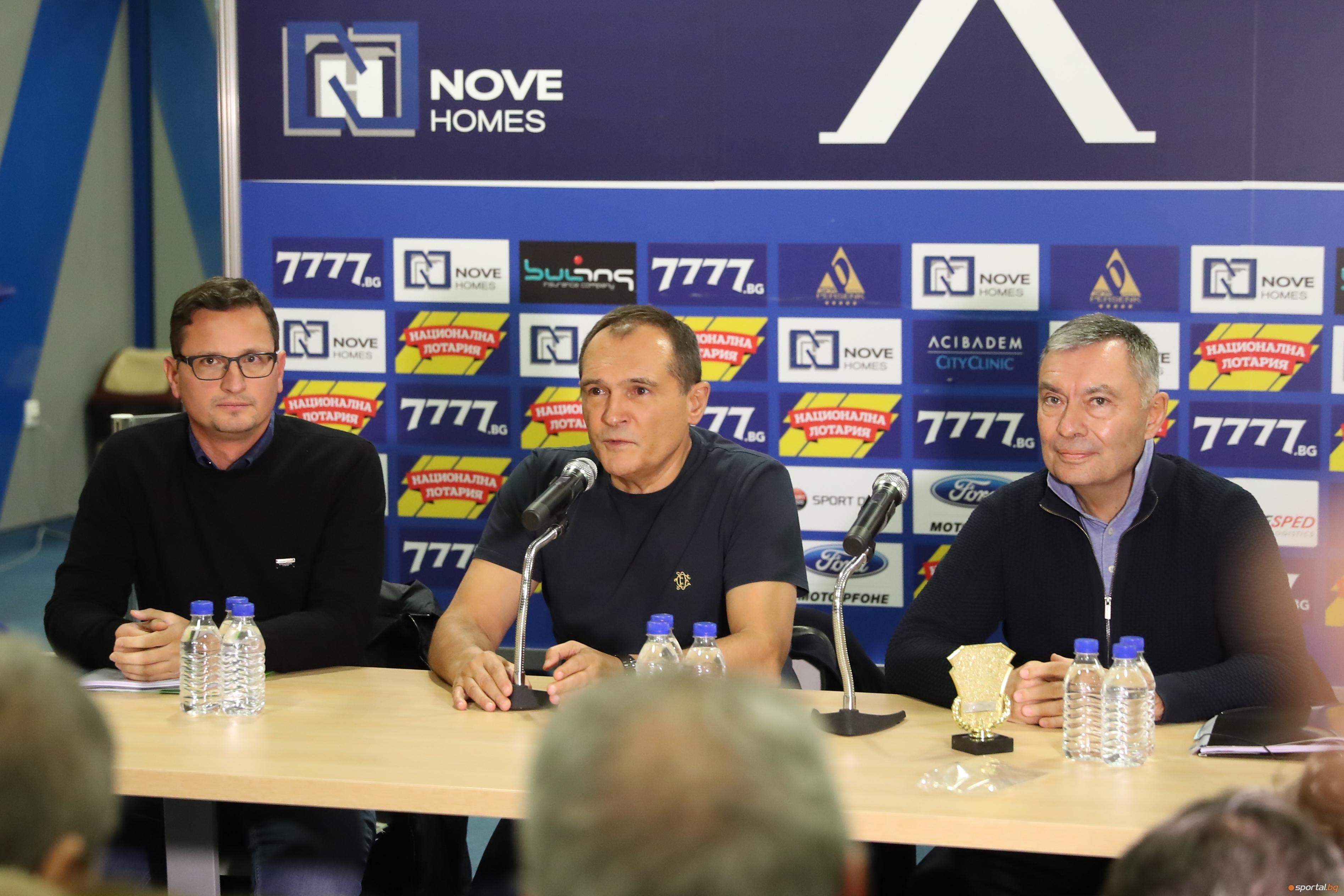 Бизнесменът Васил Божков потвърди, че акциите на Левски са джиросани