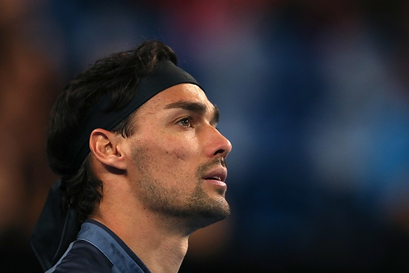 Един от най-добрите италиански тенисисти Фабио Фонини обяви, че ще