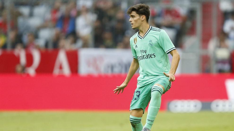 Младият флангови футболист на Реал Мадрид Мигел Гутиерес бе похвален