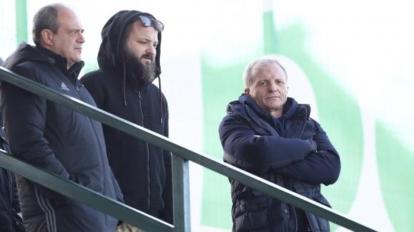 Собственикът на ЦСКА-София Гриша Ганчев ще гледа на живо приятелската