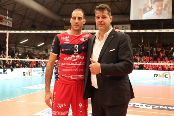 Легендарният волейболист и топреализатор на италианската Серия А за всички