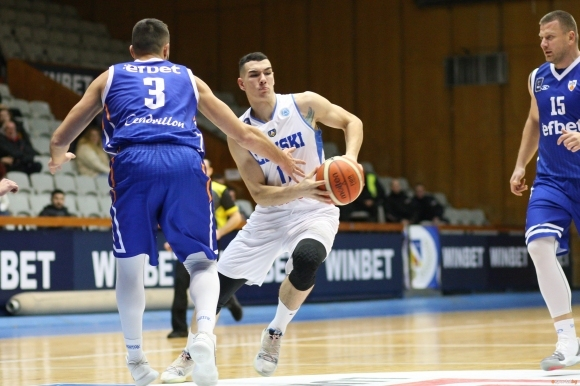 Крилото на Левски Лукойл Йордан Минчев даде интервю за Superbasket.bg,