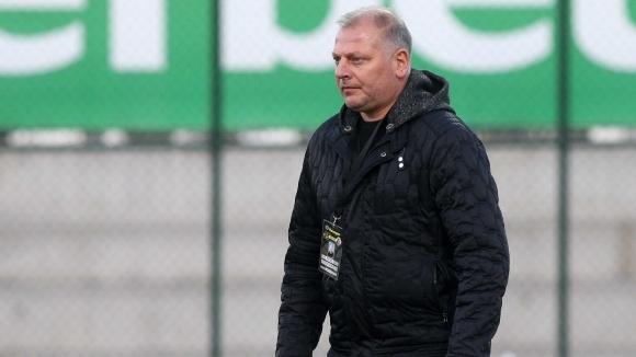 Старши треньорът на Етър Петко Петков сподели мислите си след