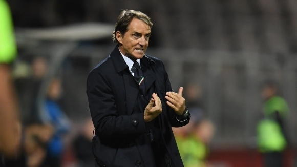 Селекционерът на Италия Роберто Манчини коментира ситуацията около нападателя на