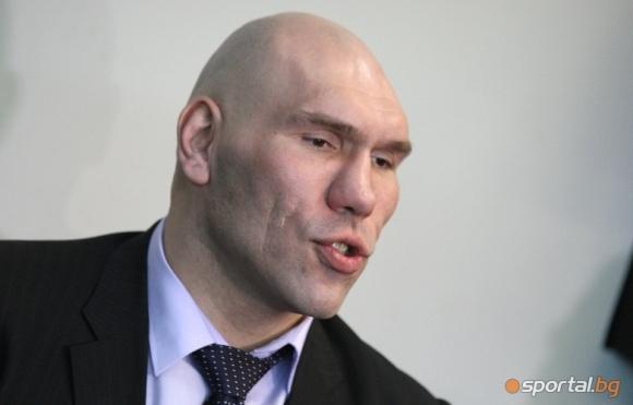 Бившият шампион в тежката категория на професионалния бокс Николай Валуев