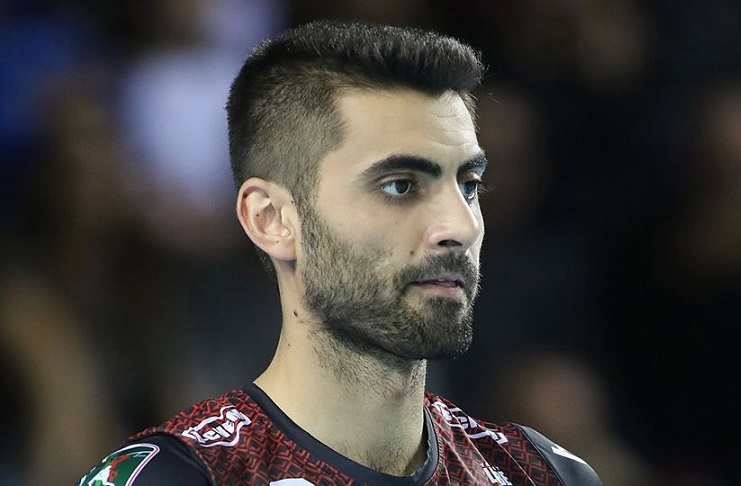 Италианският волейболен гранд Лео Шуус (Модена) се е прицелил в