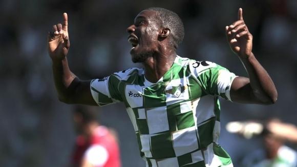 Свързваният с трансфер в Лудогорец анголски нападател Фабио Абреу е
