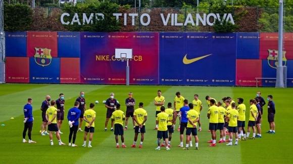 Испанските отбори подновиха пълноценни тренировки днес и започнаха финалната фаза